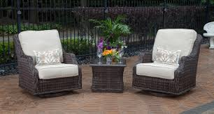 All Weather Patio Chairs Home Design Magnificent Patio Set With Swivel Chairs Mila