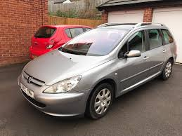 used peugeot estate cars peugeot 307 sw 52 plate estate car in chesterfield derbyshire