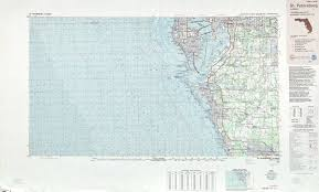 Petersburg Alaska Map by St Petersburg Topographic Maps Fl Usgs Topo Quad 27082a1 At 1