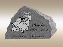 pet headstones pet memorials granite pet memorial stones and pet cemetery grave