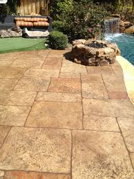 Stamped Patio Designs by Stamped Concrete Pool Deck Pictures Home Design Ideas