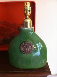 Oriental Table Lamps Uk Antiques Atlas Vintage Green Oriental Ceramic Table Lamp