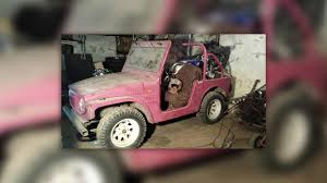 pink toy jeep can u0027t have a new suzuki jimny consider a vintage one