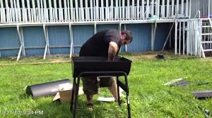 Backyard Pro Grill by Kingsford Barrel Grill 30 Inch Charcoal Youtube