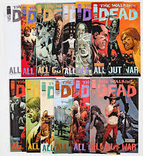 walking dead wrapping paper walking dead issue 1 ebay