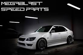 lexus altezza is200 bodykit lexus is200 is300 toyota altezza megablast speed parts