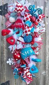 1431 best mesh ribbon wreaths images on pinterest christmas