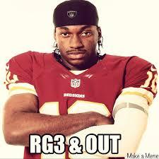 Funny Redskins Memes - rg3 meme 3 out redskins nfl washington funny foot flickr