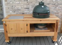 Green Egg Table by Here Are The Photographs Of The Deluxe Big Green Egg Table Wood