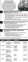 Resume Sample Untuk Kerja Kerajaan by August 2011 Jawatan Kerja Kosong Kerajaan 2012 Terkini