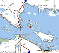 mackinac island michigan map michigan map