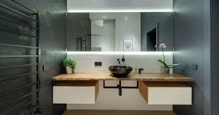 bathroom mirrors with lights behind 8 reasons why you should have a backlit mirror in your bathroom
