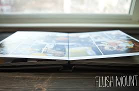 flush mount photo albums the difference between a lay flat album and a flush mount album