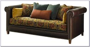 Leather And Fabric Sofa In Same Room Leather And Fabric Sofa Combinations Sofas Home Decorating