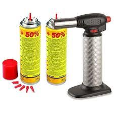 chalumeau de cuisine pas cher chalumeau de cuisine professionnel 2 recharges gaz micro torche