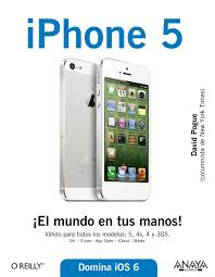 amazon com iphone 5 iphone the missing manual spanish edition
