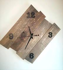 Free Wood Gear Clock Plans by Wall Clock Free Wood Wall Clock Plans Wooden Gear Clock Plans