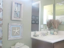 ocean bathroom decor for small bathrooms white double sink