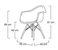 Armchair Dimensions Eames Molded Fiberglass Dowel Leg Armchair Dimensions