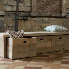great storage bench wood solid wood storage sofa bench with