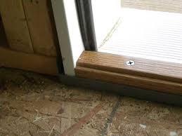 Wooden Exterior Door Threshold Best Exterior Door Threshold Protections Door Stair Design