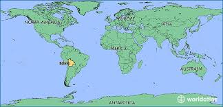 bolivia on world map where is bolivia where is bolivia located in the world