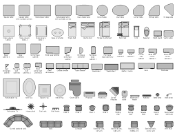 Desk Shapes Design Elements Furniture Design Elements Basic Furniture
