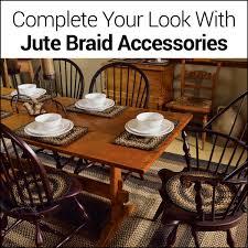 8 Round Braided Rugs by Sedona Jute Braided Rugs