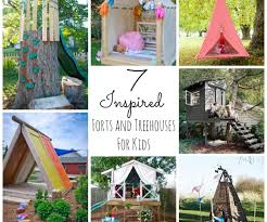 clever kids design and tree forts and your house its good idea for