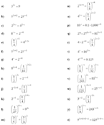 math exercises u0026 math problems exponential equations and inequalities
