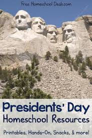 11 best free presidents day homeschool study images on pinterest