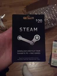 steam 20 gift card i ll be remembering to go on steam even more secret santa