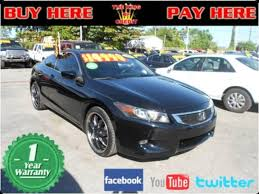 honda accord used cars for sale 36 best sedan used cars for sale at coral miami buy here pay