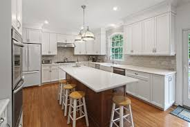tasteful transitional little silver nj by design line kitchens