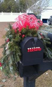 Christmas Mailbox Decoration Ideas 2013 Christmas Mailbox Cover Decor Christmas Silvery Balls