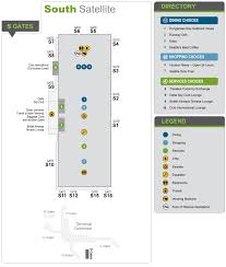Seattle Airport Terminal Map Maps U0026 Directions