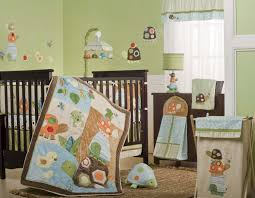Dark Wood Nursery Furniture Sets by Exciting Baby Nursery Animal Themes Decoration Containing Gorgeous