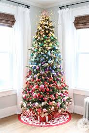 Simple Christmas Tree Decorating Ideas Wonderful Looking Christmas Trees Decorations Creative Design 60