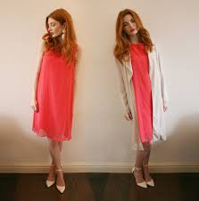 coral dresses for wedding guests wedding guest dress archives louise fashion