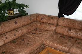 Repaint Leather Sofa Custome Hand Painted Leather And Fabric Couches