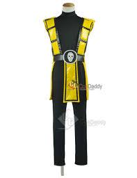 Scorpion Costume Kombat Ninja Scorpion Cosplay Costume