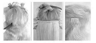 grey hair extensions silver grey clip in hair extensions weft hair extensions