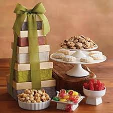 david harry s gift baskets tower of sweet treats gift baskets fruit baskets