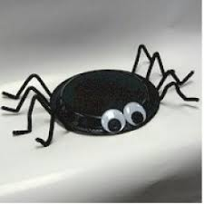 Halloween Crafts For Little Kids - paper plate spider this is a fun and easy halloween project for
