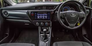 toyota corolla ascent sport price image gallery of toyota corolla 2017 sport inside
