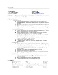 transcribing resume objective ideas for research sle resume objectives for the medical field best of resume