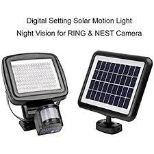 nest motion sensor light 1000 lumen microsolar 126 led lithium battery digitally