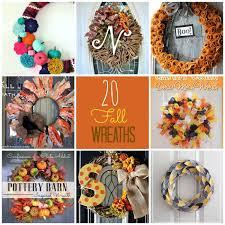 great ideas 17 diy fall wreaths