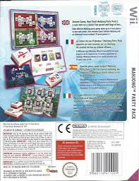 mahjong party pack for nintendo wii passion for games webshop