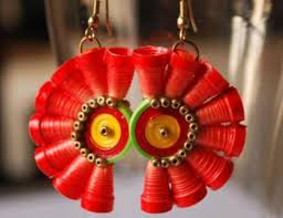 paper ear rings paper quilling earrings designs and ideas chilli